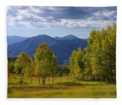 Meadow Highlights Fleece Blanket