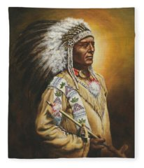 Medicine Chief Fleece Blanket