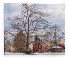 Meetinghouse Hill Fleece Blanket