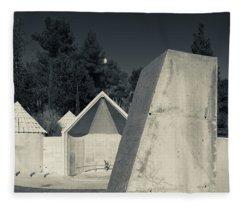 Memorial To Ethiopian Jews Who Perished Fleece Blanket