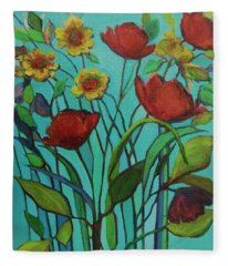 Memories Of The Meadow Fleece Blanket