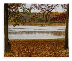 Mendon Ponds Fleece Blanket