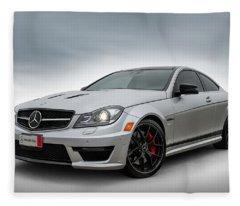 Mercedes Benz Amg C63 Edition 507 Fleece Blanket