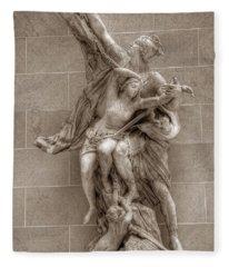 Mercury And Psyche Fleece Blanket