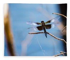 Merrill Creek Dragonfly Fleece Blanket