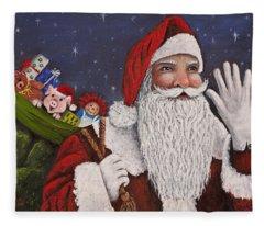 Merry Christmas To All Fleece Blanket