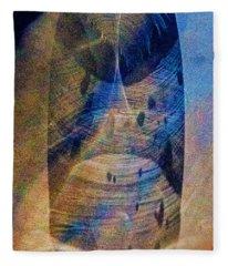 Message In A Bottle Fleece Blanket