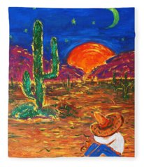 Mexico Impression IIi Fleece Blanket