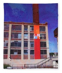 Miad 2 W Paint Fleece Blanket