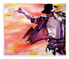 Michael Jackson-billie Jean Fleece Blanket