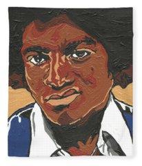 Michael Jackson Fleece Blanket