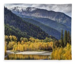 Middle Fork Brillance  Fleece Blanket