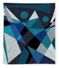 Midnight Jazz Fleece Blanket