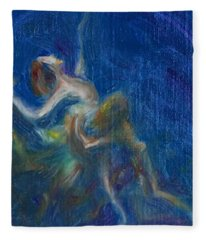 Midsummer Nights Dream Fleece Blanket
