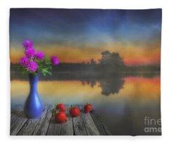 Midsummer Fleece Blanket