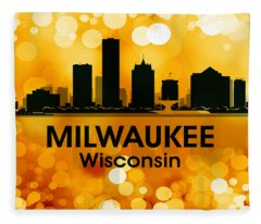 Milwaukee Wi 3 Fleece Blanket