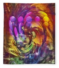 Mindscape Fleece Blanket