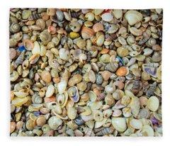 Mini Shells II Fleece Blanket