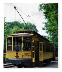 Minnesota Streetcar Museum Fleece Blanket