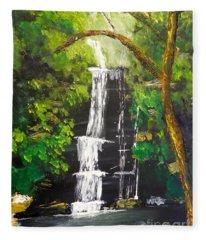 Minnumurra Falls Fleece Blanket