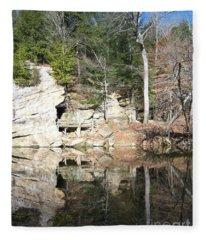 Sugar Creek Mirror Fleece Blanket