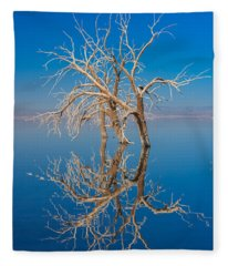 Mirror Mirror Fleece Blanket