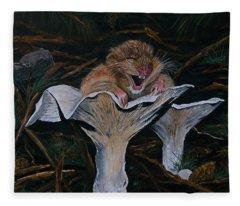 Mischievous Molly Fleece Blanket