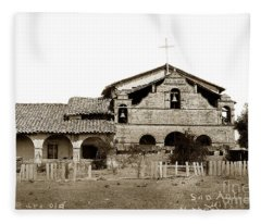 Mission San Antonio De Padua California Circa 1885 Fleece Blanket