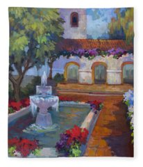 Mission Via Dolorosa Fleece Blanket