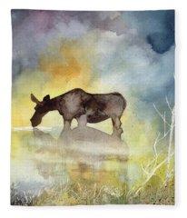 Misty Moose Minerva Fleece Blanket