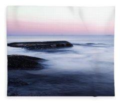 Misty Sea Fleece Blanket