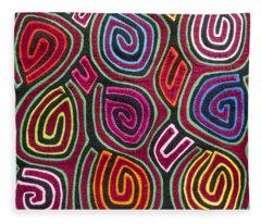 Mola Art Fleece Blanket