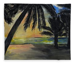 Mombasa Sunrise  Fleece Blanket