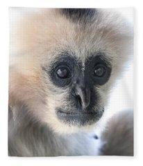 Monkey Face Fleece Blanket