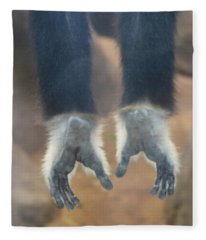Monkeying Around  Fleece Blanket