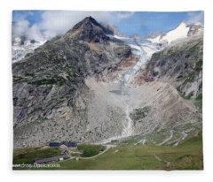 Mont Blanc Fleece Blanket