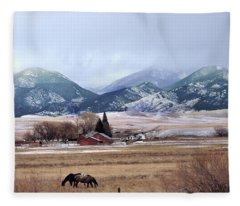 Montana Ranch - 1 Fleece Blanket