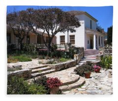Monterey City Hall Fleece Blanket