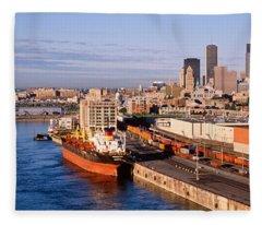 Montreal, Quebec, Canada Fleece Blanket