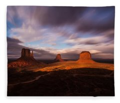 Monument Skys Fleece Blanket