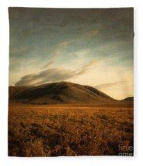 Moody Hills Fleece Blanket