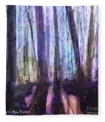 Moody Woods Fleece Blanket