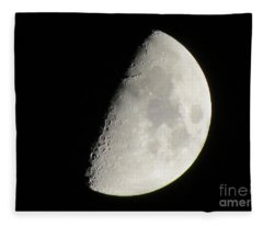 Moon 4 Fleece Blanket