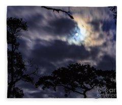 Moon Break Fleece Blanket