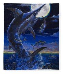Moon Doggie Off00124 Fleece Blanket