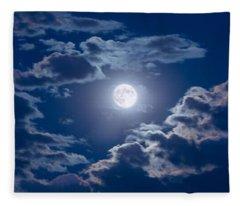 Moon Glow Fleece Blanket