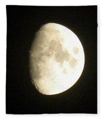 Moon Lit Night Fleece Blanket
