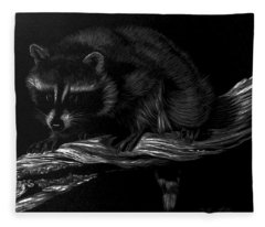 Moonlight Bandit Fleece Blanket