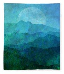 Moonlight Hills Fleece Blanket