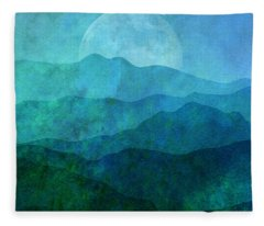Moonlight Hills Fleece Blanket